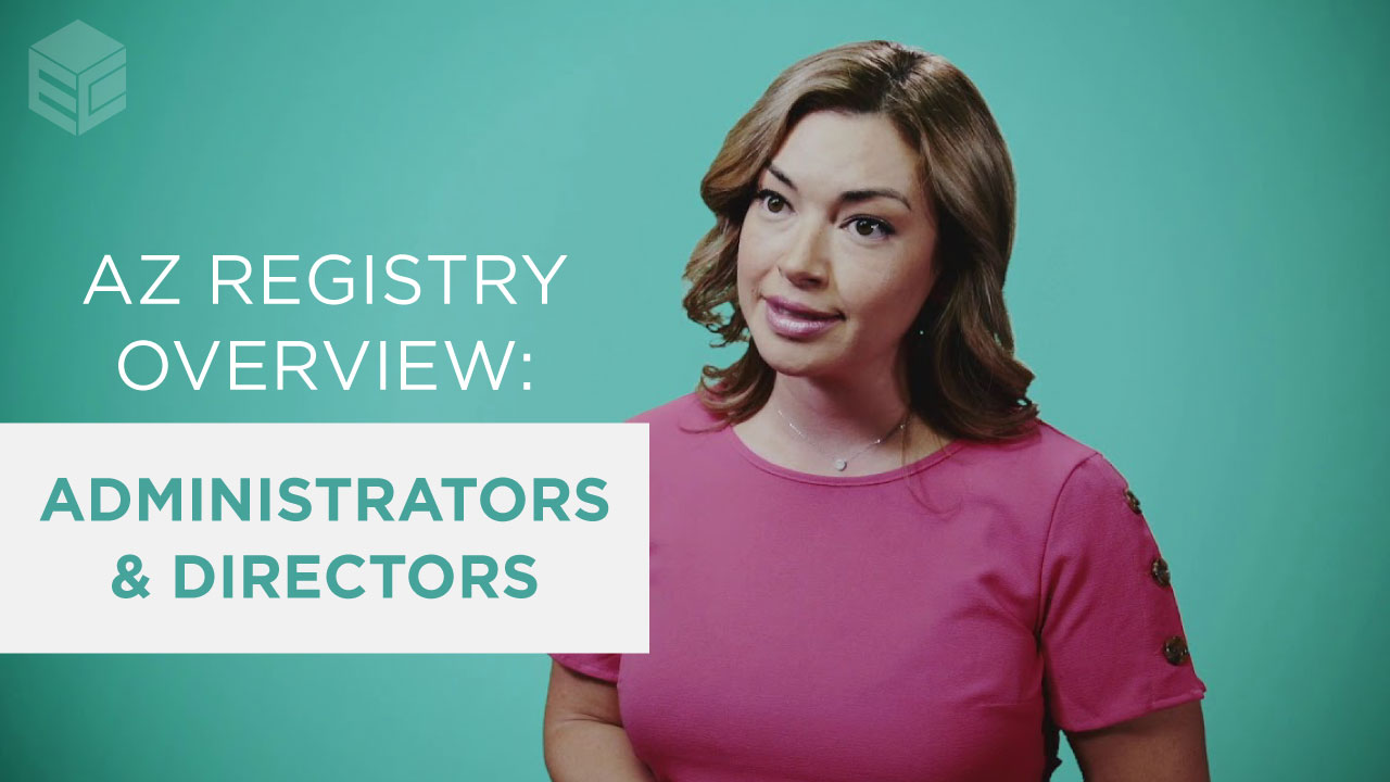 AZ Registry - Administrator and Director Overview