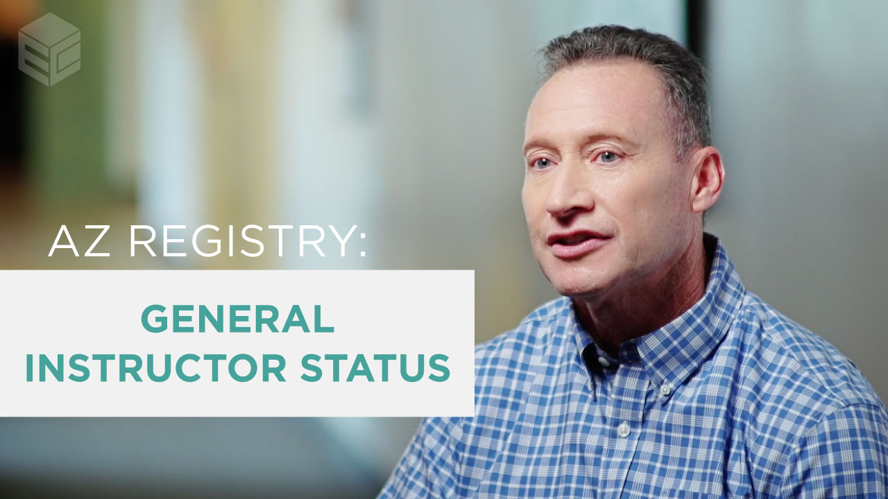 AZ Early Childhood Registry General Instructor Status video thumbnail